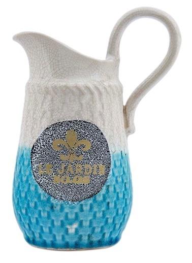 Vitale Seramik Dekoratif Sürahi Küçük Boy Mavi